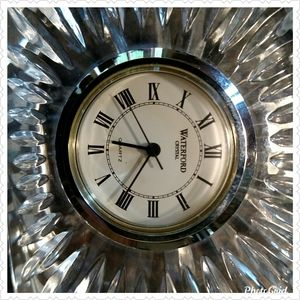 Waterford Accents - Waterford Crystal Oval Table Clock